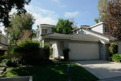 Westlake Village Condo/Townhouse For Sale: 5562 Ridgeway Court