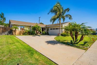 Camarillo Single Family Home For Sale: 458 Murray Avenue