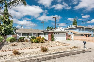 Simi Valley Single Family Home For Sale: 1852 Morley Street