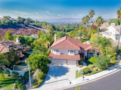 Thousand Oaks Single Family Home For Sale: 2509 Crown View Court