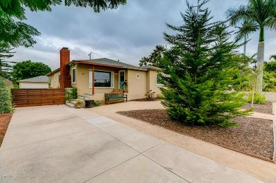 Ventura Single Family Home For Sale: 65 Glen Ellen Drive
