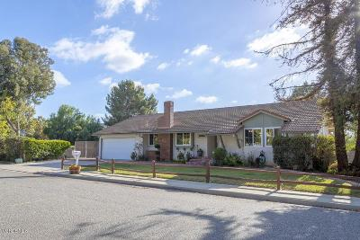 Simi Valley Single Family Home For Sale: 1610 Mellow Lane