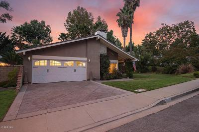 Thousand Oaks Single Family Home For Sale: 2045 Willow Tree Court