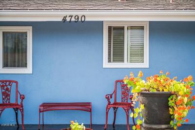 Ventura Single Family Home For Sale: 4790 Lafayette Street