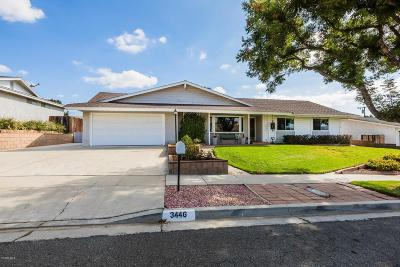 Simi Valley Single Family Home For Sale: 3446 Dalhart Avenue