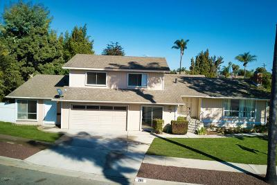 Ventura Single Family Home For Sale: 206 Bethel Avenue