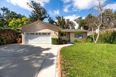 Ventura Single Family Home For Sale: 5465 North Bryn Mawr Street