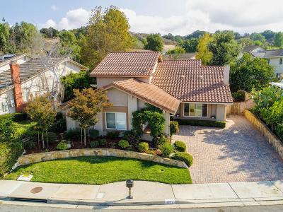 Newbury Park Single Family Home For Sale: 3332 Bear Creek Drive