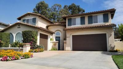 Camarillo Single Family Home For Sale: 2852 Diamond Drive