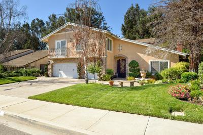Camarillo Single Family Home For Sale: 2111 Calaveras Drive
