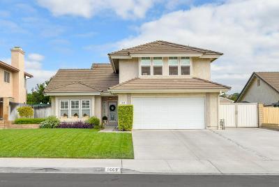 Camarillo Single Family Home For Sale: 1669 Ridgewood Drive