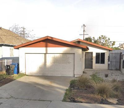 Los Angeles Single Family Home Active Under Contract: 221 West 47th Street