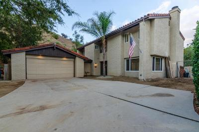 Calabasas Single Family Home For Sale: 23427 Park Hacienda