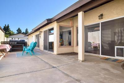 Camarillo Single Family Home For Sale: 886 Fairchild Avenue