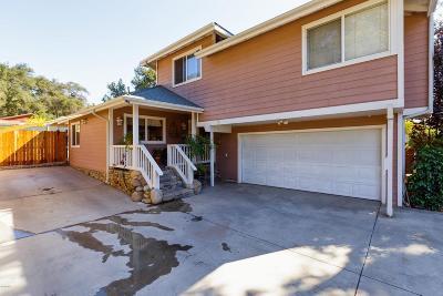 Ojai Single Family Home For Sale: 304 El Conejo Drive