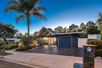 Thousand Oaks Single Family Home For Sale: 1575 Campbell Avenue