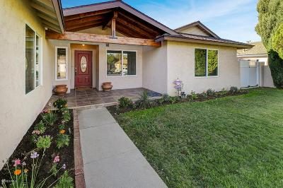 Simi Valley Single Family Home For Sale: 2192 Rosecrans Street