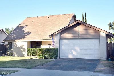 Newbury Park Single Family Home For Sale: 3863 Elkwood Street