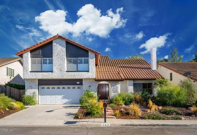 Thousand Oaks Single Family Home For Sale: 282 Hunters Point Drive