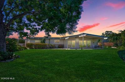 Camarillo Single Family Home For Sale: 1590 Canter Avenue