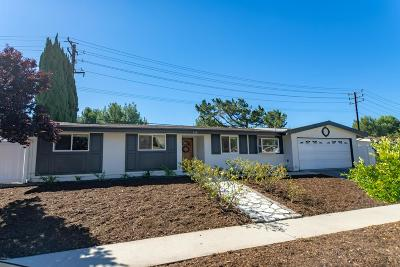 Thousand Oaks Single Family Home For Sale: 134 Galsworthy Street