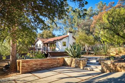 Ojai Single Family Home For Sale: 507 West Aliso Street