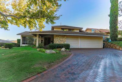 Westlake Village Single Family Home For Sale: 1644 Glennon Court