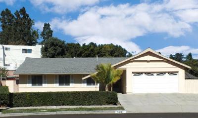 Ventura Single Family Home For Sale: 5487 Lehigh Street