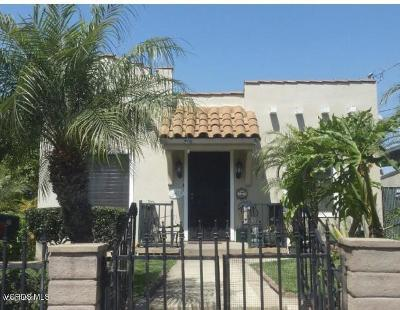Los Angeles CA Single Family Home For Sale: $719,000