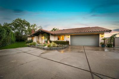 Westlake Village Single Family Home Sold: 2117 Hillsbury Road