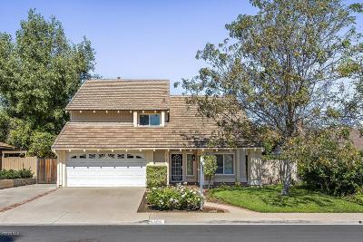 Camarillo Single Family Home For Sale: 6109 Arabian Place