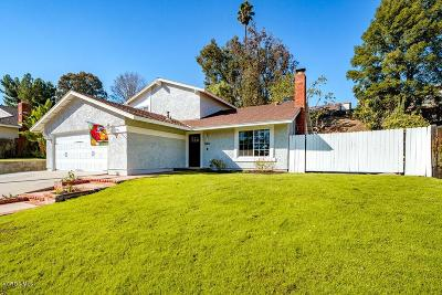 Thousand Oaks Single Family Home For Sale: 3327 Silver Spur Court