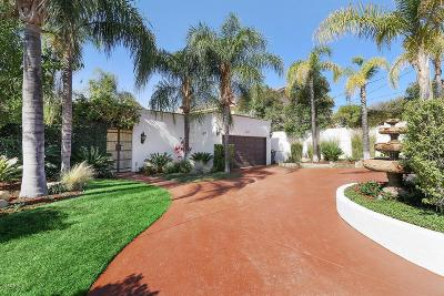 Agoura Hills Single Family Home For Sale: 4141 Cornell Road