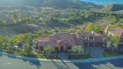 Simi Valley Single Family Home For Sale: 2662 Castlewood Lane