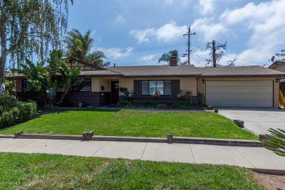Newbury Park Single Family Home For Sale: 3470 Henry Drive