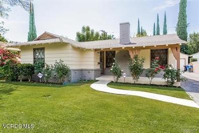 Encino Single Family Home For Sale: 15832 Magnolia Boulevard