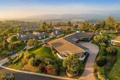Camarillo Single Family Home For Sale: 1263 Vista Del Cima