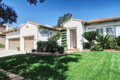 Newbury Park Single Family Home For Sale: 1066 Via San Jose
