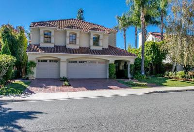 Agoura Hills Single Family Home Active Under Contract: 5819 Saint Laurent Drive