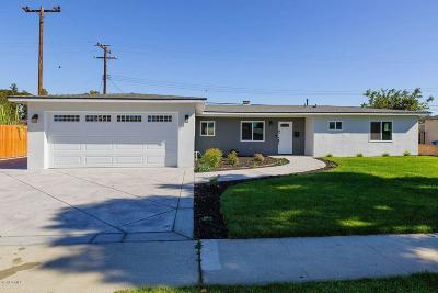 Camarillo Single Family Home For Sale: 478 Staunton Street