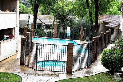Agoura Hills Condo/Townhouse For Sale: 5800 Kanan Road #272