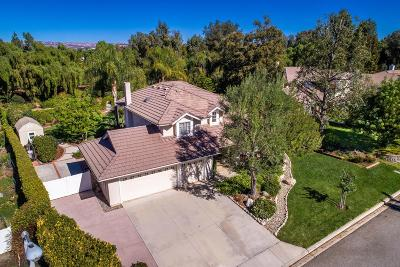 Simi Valley Single Family Home Active Under Contract: 160 Valley Gate Road
