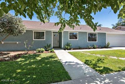 Thousand Oaks Single Family Home For Sale: 721 Calle Fresno