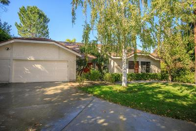 Westlake Village Single Family Home Sold: 2002 Goldenrod Court