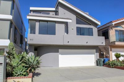 Oxnard Single Family Home For Sale: 3612 Ocean Drive