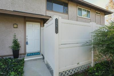 Agoura Hills Condo/Townhouse For Sale: 28615 Conejo View Drive