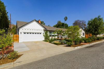 Ventura Single Family Home For Sale: 4485 Wooster Street