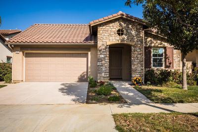 Camarillo Single Family Home For Sale: 3825 Hedge Lane