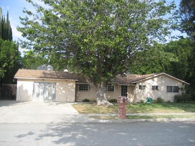 Simi Valley Single Family Home For Sale: 4055 Carlotta Street