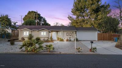 Thousand Oaks Single Family Home For Sale: 1061 Calle Tulipan